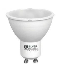 Lâmpada LED dicróica Silver Electronics ECO GU10 Luz quente