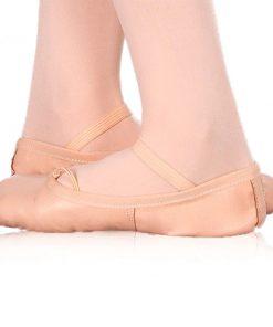 Sapatos de Meia Ponta Infantis Happy Dance Cor de rosa
