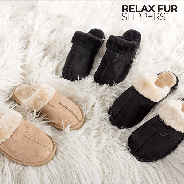 Chinelos Relax Fur