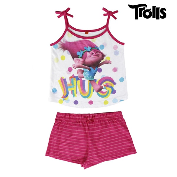 Pijama de Verão para Meninas Trolls