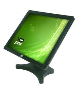 """Monitor com tela tátil 10POS TS-19V 19"""" LCD Preto"""