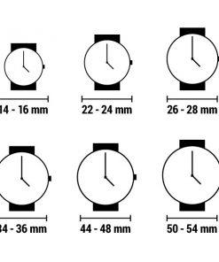Relógio unissexo naak 24-34 (38 mm)