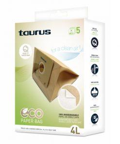 Bolsa Sobresselente para Aspirador Taurus 999.193 2L Castanho