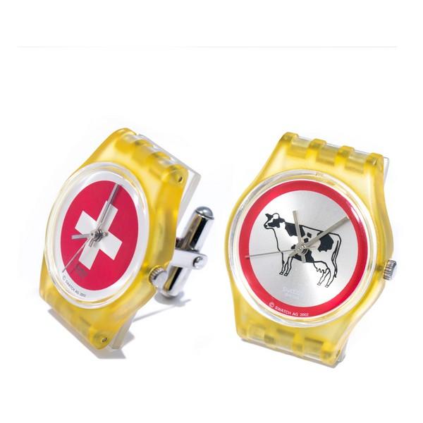 Botões de Punho Swatch LKS-01