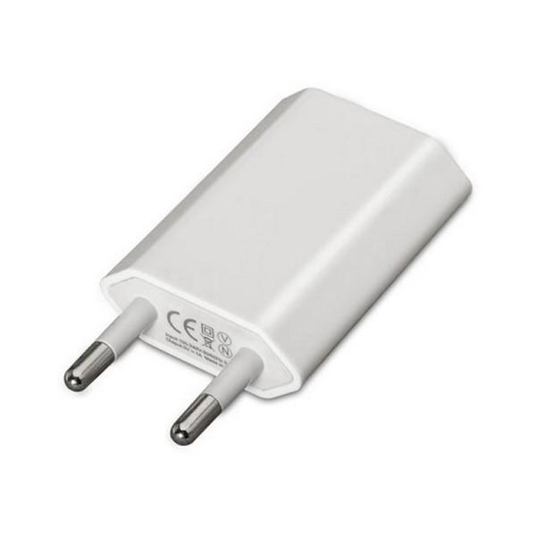 Carregador de Parede NANOCABLE 10.10.2001 iPod iPhone Branco