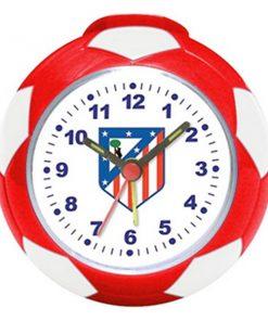 Relógio-Despertador Atlético Madrid Bola de futebol
