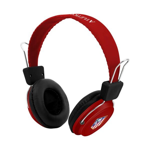 Auriculares de Diadema Atlético Madrid 720761 Bluetooth Vermelho