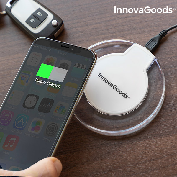 Carregador Sem Fios para Smartphones Qi Wh InnovaGoods