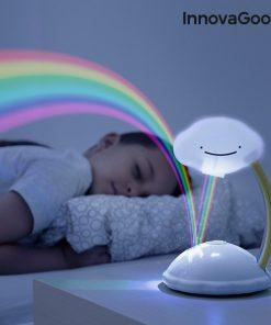 Projetor LED Nuvem Arco-íris Libow InnovaGoods