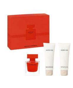 Conjunto de Perfume Mulher Rouge Narciso Rodriguez (3 pcs)