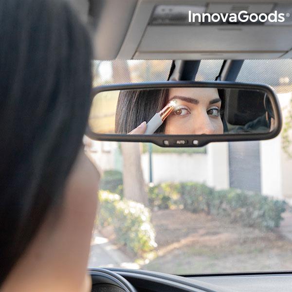 Depiladora de Precisão com LED para Pelo Facial InnovaGoods