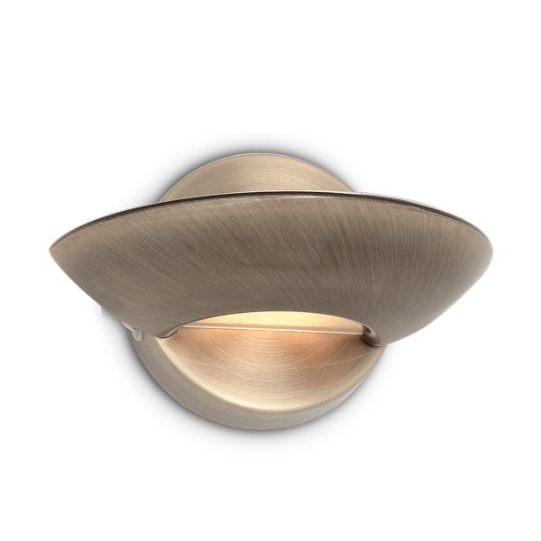 [I-L-2507] Luz De Parede LUMINA R7S 1 Lâmpada  (Com Lâmpada)