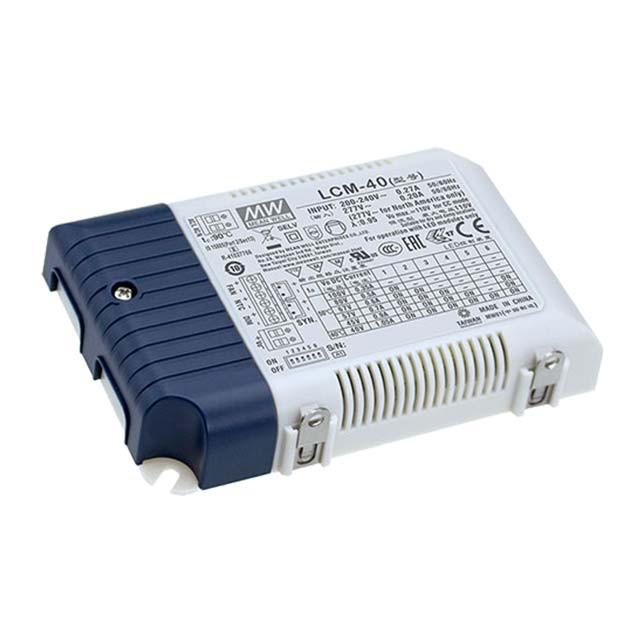 LCM-40BLE IP20 Led Driver Em: 180-295VAC Fora: 2-100VDC Potência Constante  350-1050mA 42W CASAMBI/Push  Ajustável