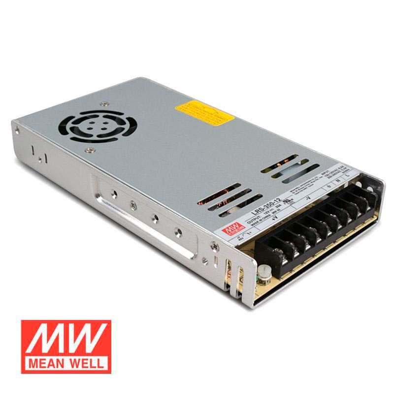 LRS-350-42  Transformador MEANWELL Em: 90-132/180-264VAC Fora: 4,2VDC 60A, 252W Isolamento 3000VAC Sem Pfc