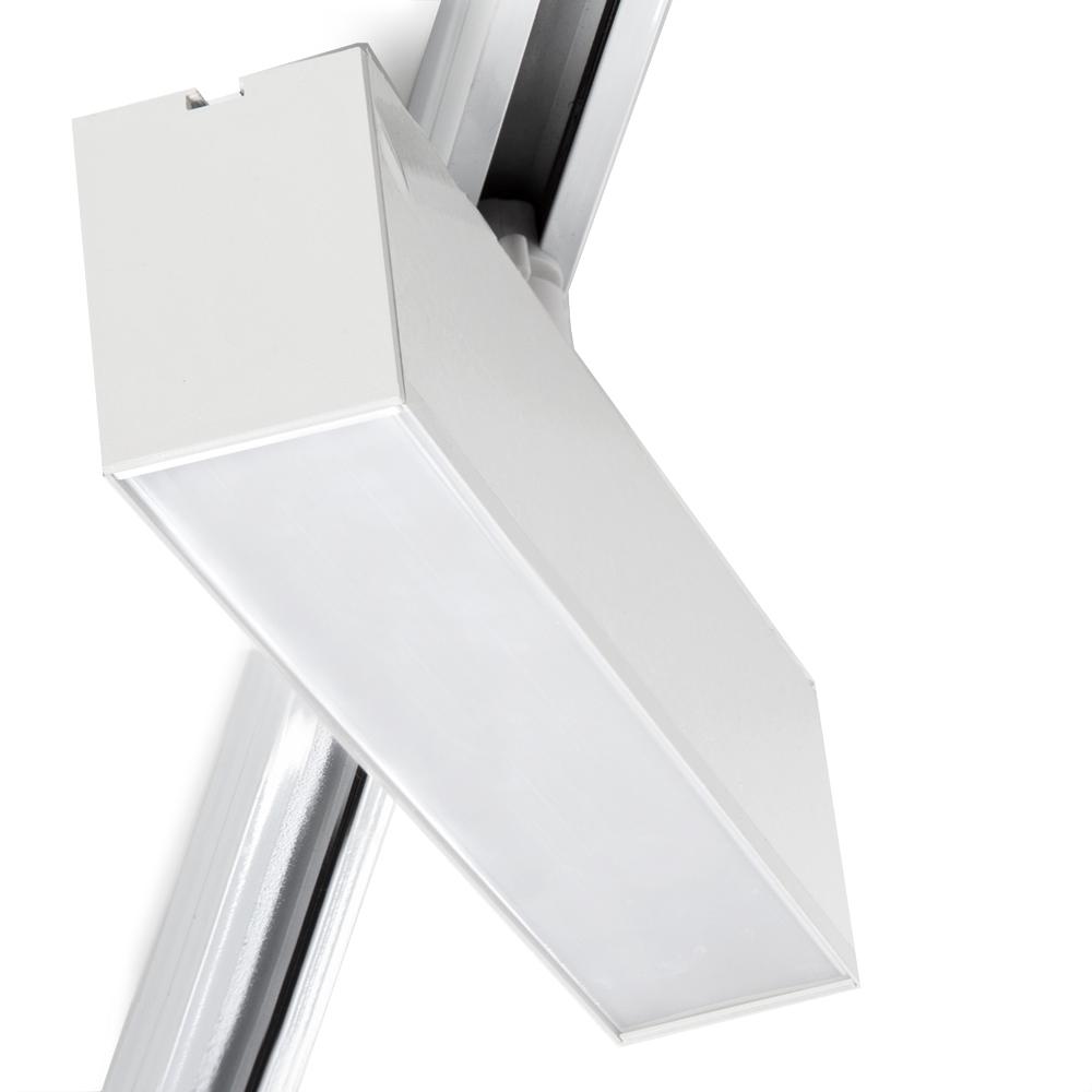 Luz Da Trilha Led Lineal Fase Única 12W Branco CCT Ajustável