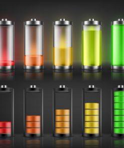 Eletrónica Pilhas e Baterias