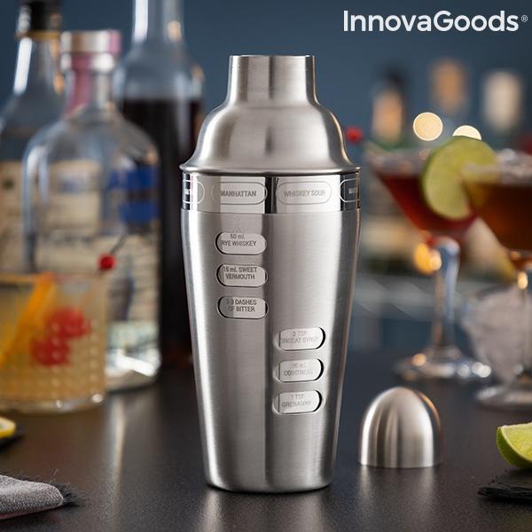 Shaker com Receitas de Cocktail Integradas Maxer InnovaGoods