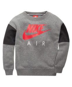 Polar sem Capuz Criança Nike 376S-GEH Cinzento Vermelho