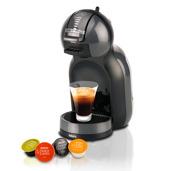 Máquina de Café de Cápsulas Krups KP1208 Mini Me Dolce Gusto 15 bar 0,8 L 1500W Preto