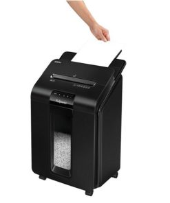 Trituradora de Papel Micro-Corte Fellowes AutoMax100M Preto