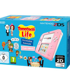 Nintendo 2DS HW + Tomodachi Life Nintendo Cor de rosa