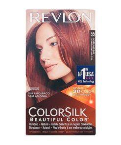 Tinta Sem Amoníaco Colorsilk Revlon Avermelhado claro