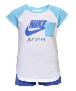 Conjunto de Desporto para Bebé Nike 919-B9A Azul Branco