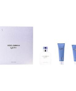 Conjunto de Perfume Homem Light Blue Dolce & Gabbana (3 pcs)