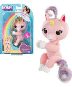 Boneco Unicorn Gemma Fingerlings Cor de rosa 117078