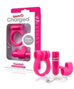 Estimulador com Carga CombO Kit #1 Rosa The Screaming O 12679