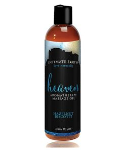 Óleo de Massagem Hazelnut Biscotti 120 ml Intimate Earth 6202
