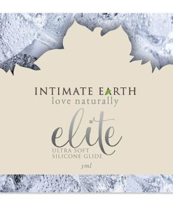 Lubrificante de Silicone Elite Foil 3 ml Intimate Earth 6578