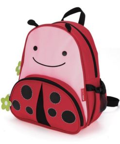 Mochila Infantil Nikidom Ladybug Vermelho