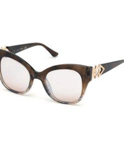 Óculos escuros femininos Guess GU7596-5255G (52 mm)