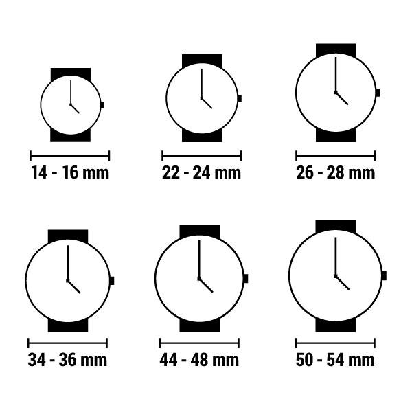 Relógio feminino Chronotech CT7681L-25S (43 mm)