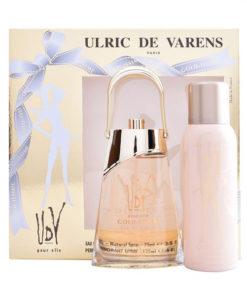 Conjunto de Perfume Mulher Gold-issime Ulric De Varens (2 pcs)
