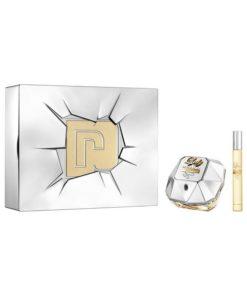Conjunto de Perfume Mulher Lady Million Lucky Paco Rabanne (2 pcs)