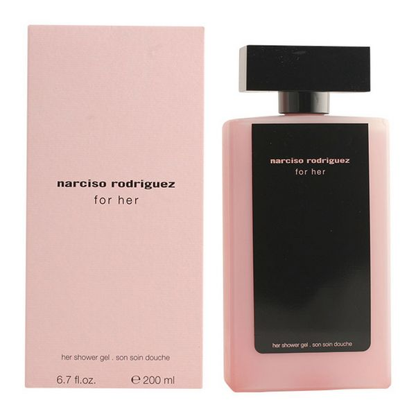 Gel de duche For Her Narciso Rodriguez (200 ml)