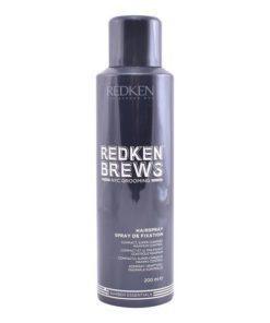 Laca de Fixação Forte Brews Redken (200 ml)