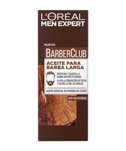 Óleo para a Barba Men Expert Barber Club L'Oreal Make Up (30 ml)
