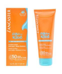 Creme Solar Sun Kids Wet Skin Lancaster SPF 50 (125 ml)