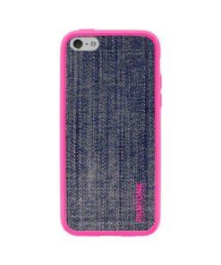 Capa para Telemóvel Iphone 5/5s Pantone Universe Denim TPU Cor de rosa Azul