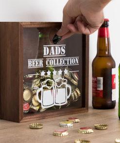 Caixa Decorativa para Tampas Beer Collection