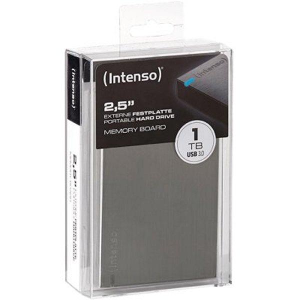 """Disco Duro Externo INTENSO 6028660 1TB 2.5"""" USB 3.0"""