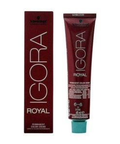 Tinta Permanente Igora Royal Schwarzkopf Nº 6-6 Chocolate