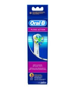 Recargas para Escovas de Dentes Elétricas Oral-B Floss Action