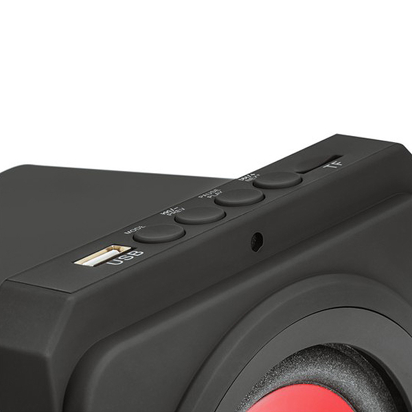 Altifalantes Gaming Mars Gaming MSX Bluetooth 35W Preto