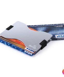 Porta-Cartões RFID 145188 (8,9 x 5,8 x 0,7 cm)