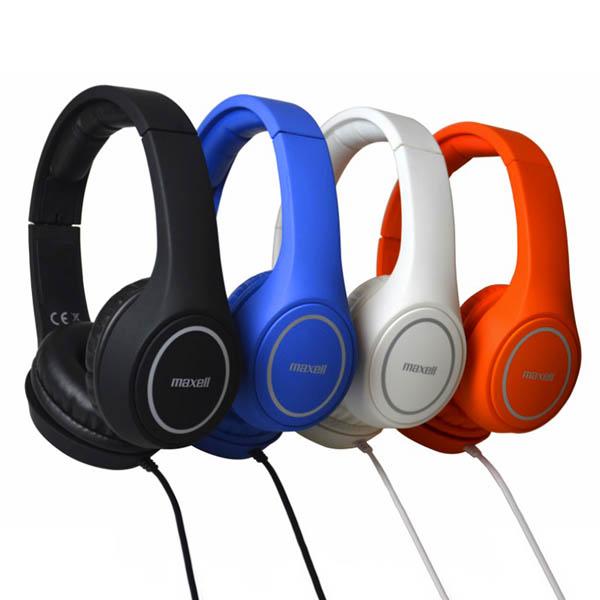 Auriculares Maxell Play MXH-HP500 Branco Diadema