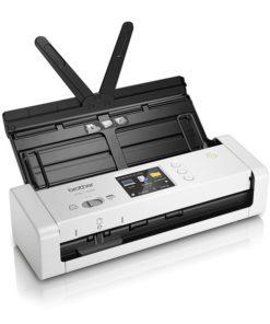 Scanner Portátil Duplex Wi-fi Colorido Brother ADS-1700 7,5 ppm 1200 dpi Branco